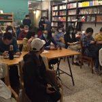 Literarni večer v Tainanu (foto Radka Denemarková)