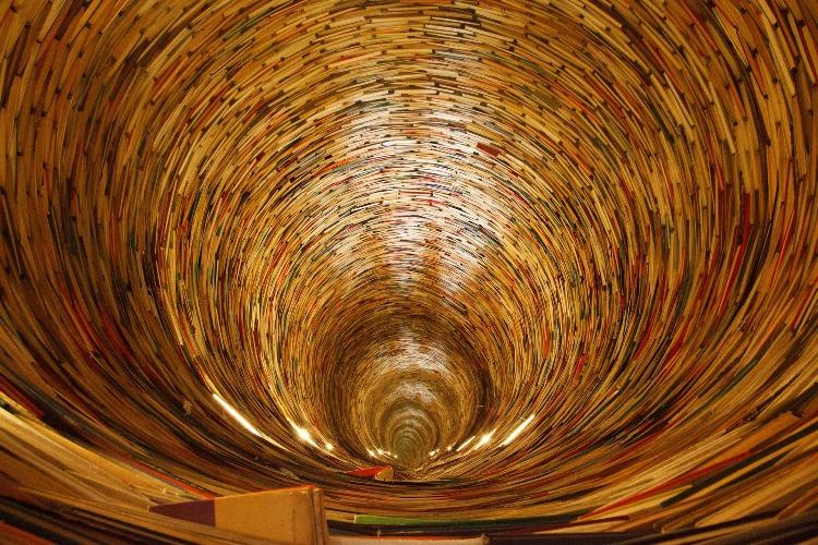 Tunel iz knjig