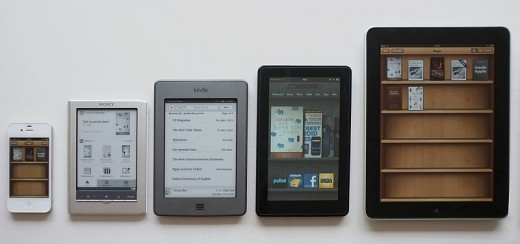 Bralne naprave in aplikacije