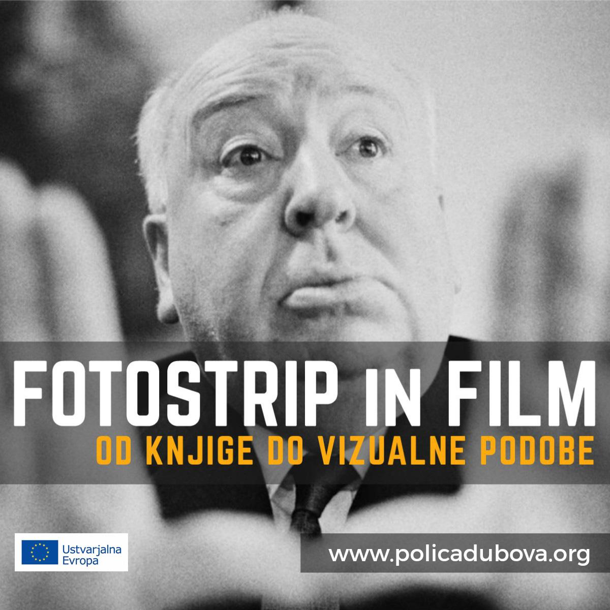 Delavnice Od knjige do vizualne podobe: fotostrip in film