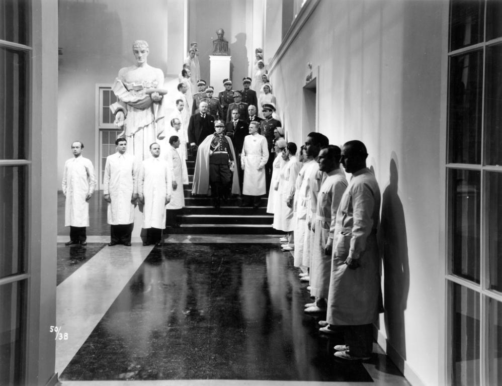 Kader iz filma Bela bolezen (1937, rež. Hugo Hass)