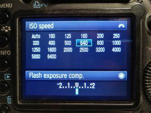Nastavitev občutljivosti na digitalnem fotoaparatu: lestvica ISO