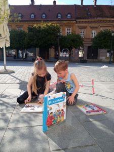 Razstava Knjige v mreži: otroci mrežijo (foto: Nuša Komplet Peperko)