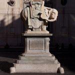 Berninijev Elefantino na trgu Piazza della Minerva v Rimu