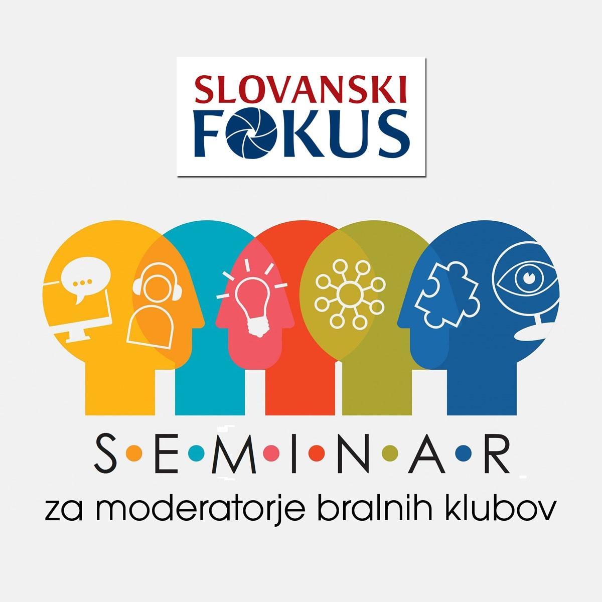 Seminar za moderatorje bralnih klubov in Slovanski fokus: zahodnoslovanske književnosti